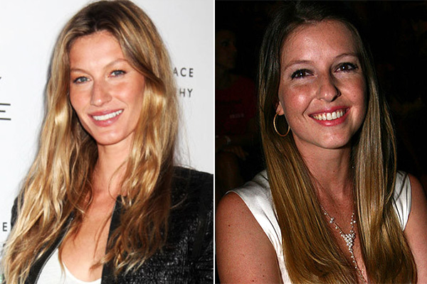 Gisele and Patricia Bundchen