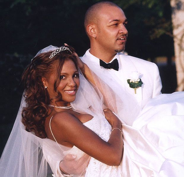 Toni Braxton Wedding.Keri Lewis And Toni Braxton Wedding