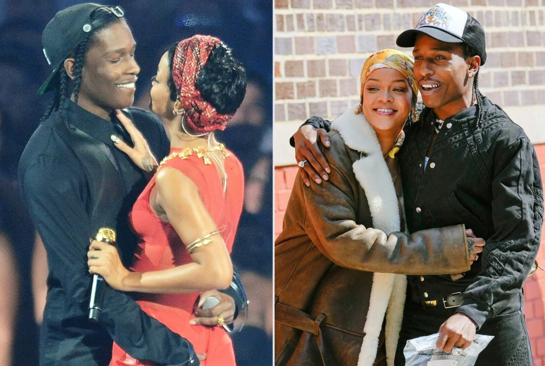 Rihanna Pregnant Asap Rocky